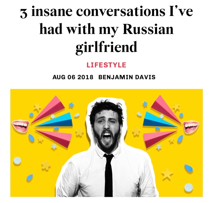 3 insane conversations I've had with my Russian girlfriend | Russia Beyond